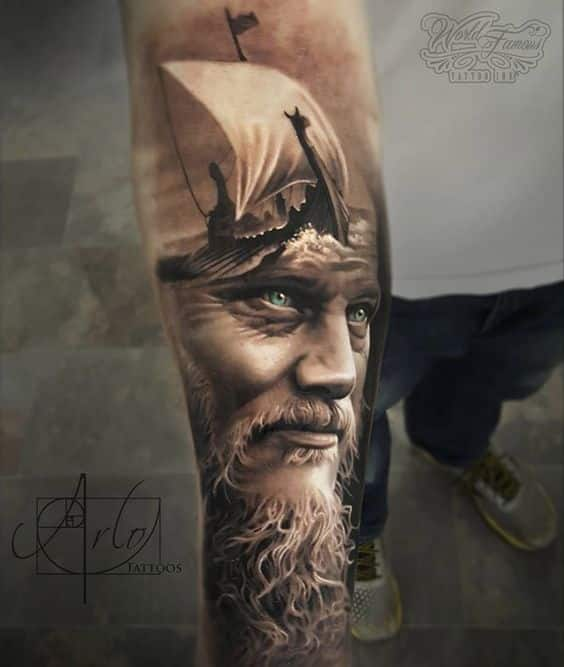 viking tattoos for men ideas and inspiration for guys. Black Bedroom Furniture Sets. Home Design Ideas